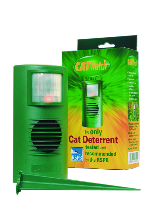 The ONLY Cat Deterrent tested and recommended by the RSPB