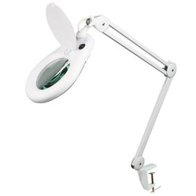 Desk Magnifier Daylight Balanced swing arm desk magnifier