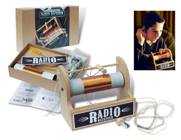 Flights of Fancy Crystal Radio Kit
