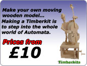 Make your own moving wooden model.