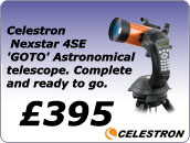 Celestron Nexstar 4SE Goto computerised