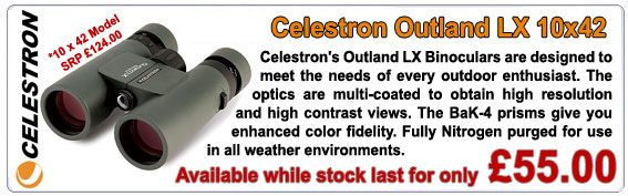 Celestron Outland LX Binocular offer