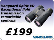 Vanguard ED Binoculars with cashback offer