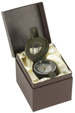 Francis Barker M-88 Green Liquid Prismatic Compass