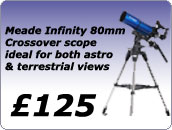 Meade Infity 80 Crossover scope