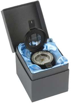 Francis Barker M-73 Black Liquid Prismatic Compass