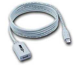 5m USB 1.0/2.0 Repeater Extension Cable