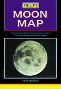Philip's Moon Map - Sheet map (folded)