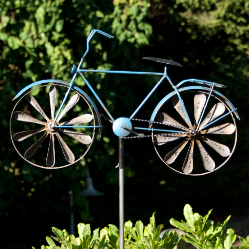 The Blue Bike whiriligig